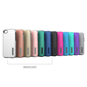 Incipio DualPro - Etui iPhone 7 Plus / iPhone 6s Plus / iPhone 6 Plus (Iridescent Silver/Charcoal)